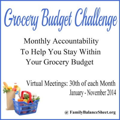 Grocery Budget Challenge 400X400