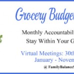 Grocery Budget Challenge – April Meeting