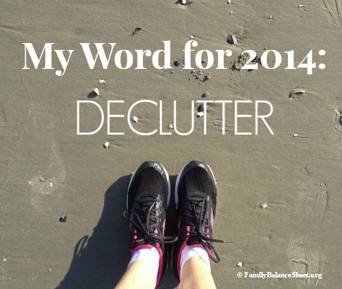My word for 2014 declutter #2