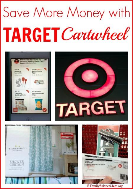 Save More Money with Target Cartwheel