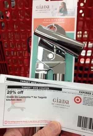 Target Cartwheel stacked with Target Coupon 2