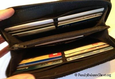 The Sak large zip around wallet 2