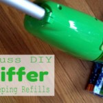 No Fuss DIY Swiffer Dry Sweeping Refills