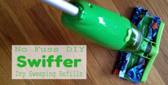 No Fuss Diy Swiffer Dry Sweeping Refills Family Balance