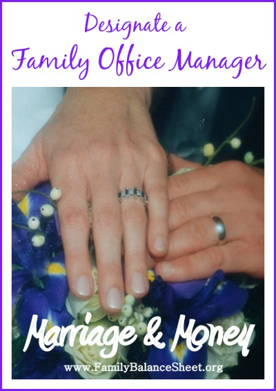 Designate a Family Office Manager