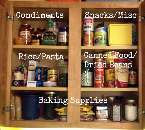Organize your pantry 2