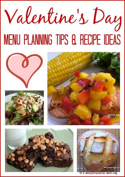 valentines day menu planning tips recipe ideas - Valentine Day Menu Ideas