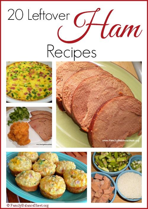 20 Leftover Ham Recipes