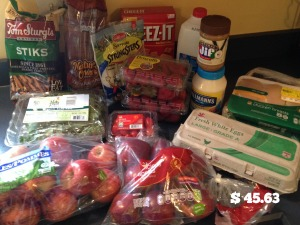 March Groceries 10
