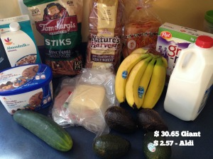 March Groceries 7