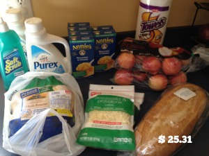 March Groceries 9