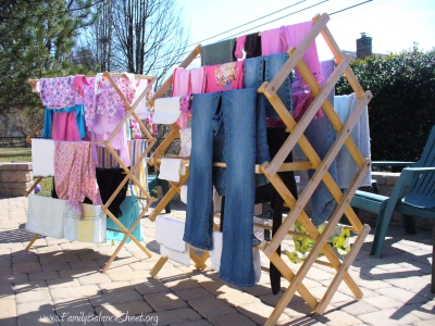 Outdoor Clothes Racks