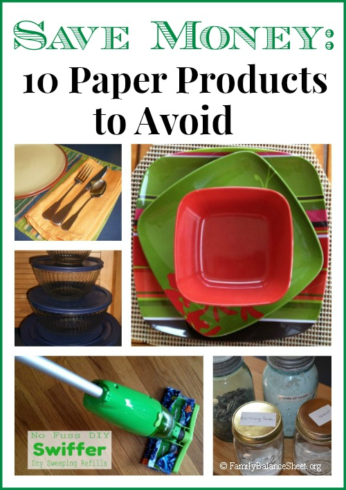Save Money 10 Paper Products to Avoid