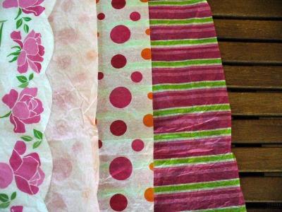 Tissue Paper Flower 1