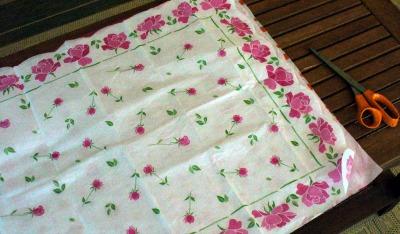 Tissue Paper Flower 2