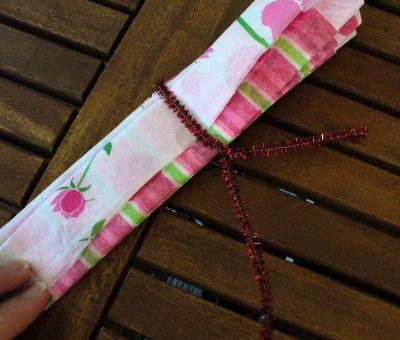 Tissue Paper Flower 6