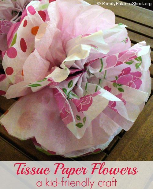 Tissue Paper Flowers