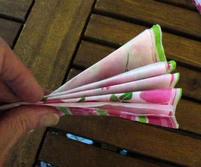 Tissue paper Flower 4