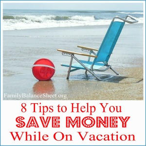 Tips to save money while on vacation 300X300