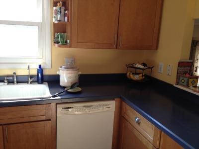 freezer cooking - clean kitchen