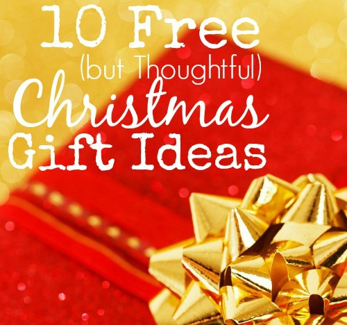 Free Christmas Gift Ideas