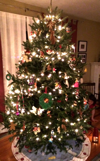 12072014 our first real Christmas tree