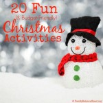 20 Fun (& Budget-Friendly) Christmas Activities