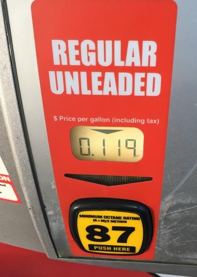 cheap gas 1