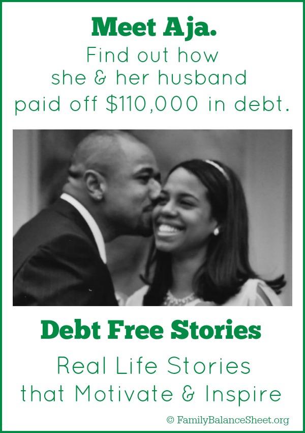 Aja's debt free story.