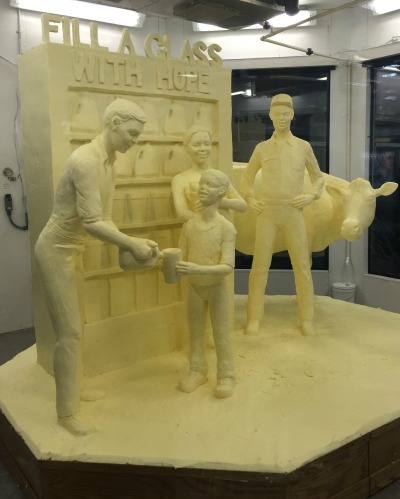 PA farm show butter scultpure
