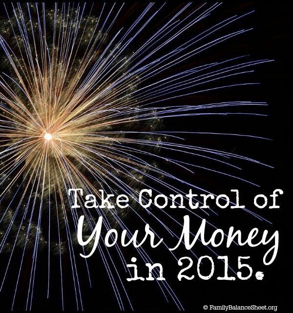 Take Control of Your Money in 2015