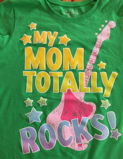 my mom totally rocks tshirt