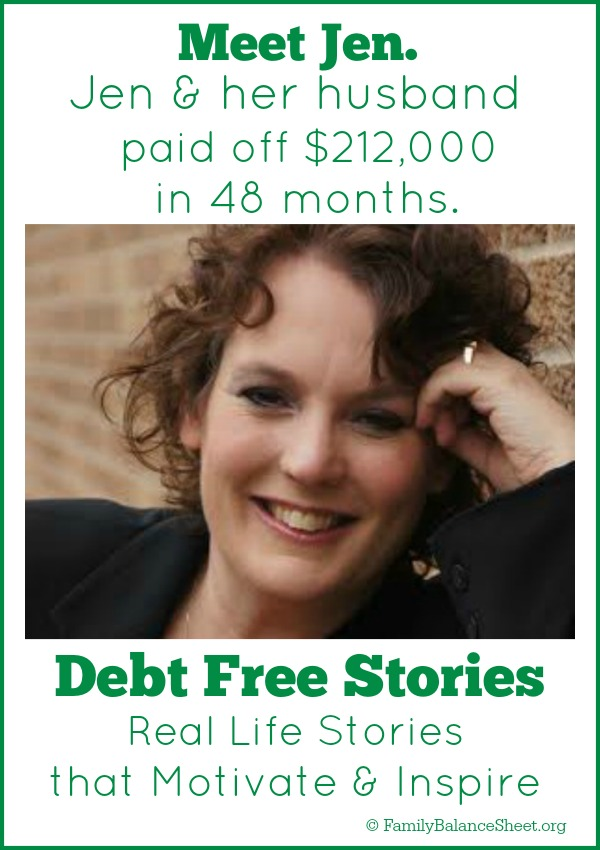Jen's Debt Free Story