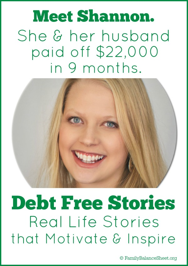 Shannons' Debt Free Story