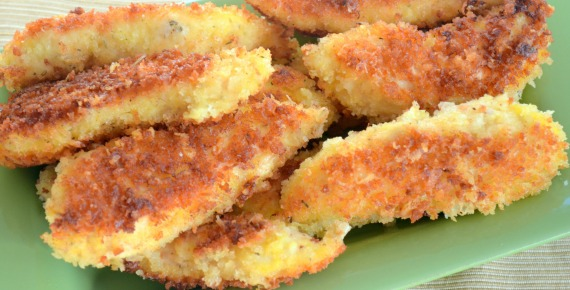 Crunchy Parmesan Chicken Tenders feature