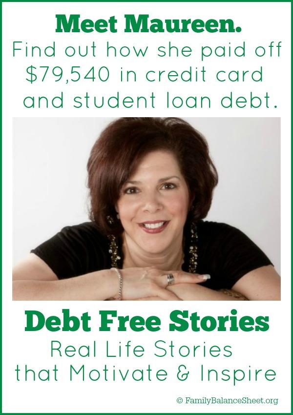 Maureen's Debt Free Story