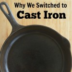 Good-Bye Teflon, Hello Cast Iron