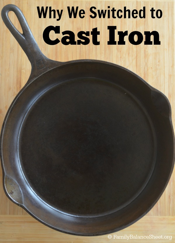 why we switched to cast iron