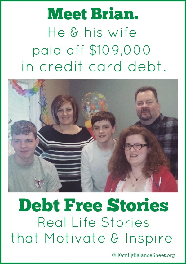 Brian's Debt Free Story