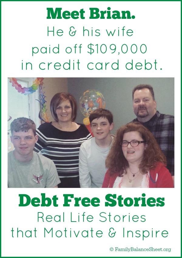 Brian's Debt Free Story