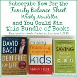 CLOSED – Subscribe Now for the FBS Weekly & You Could Win This Bundle of Books