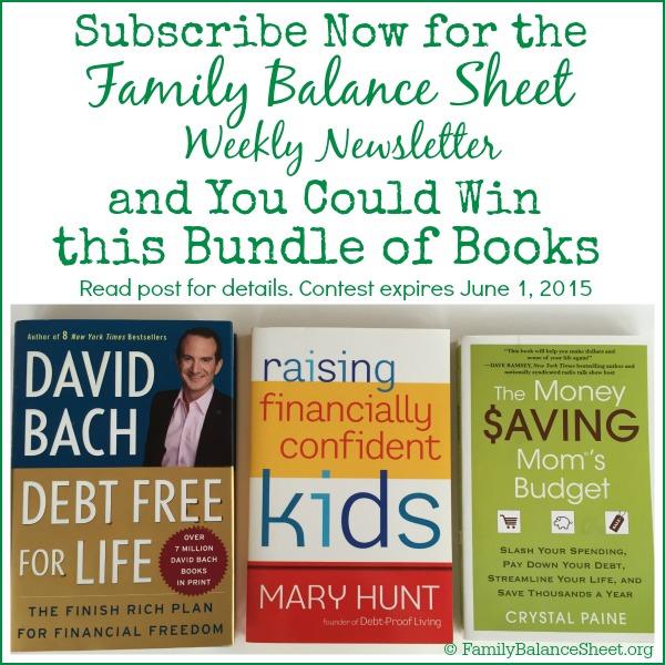 FBS Weekly book bundle giveaway