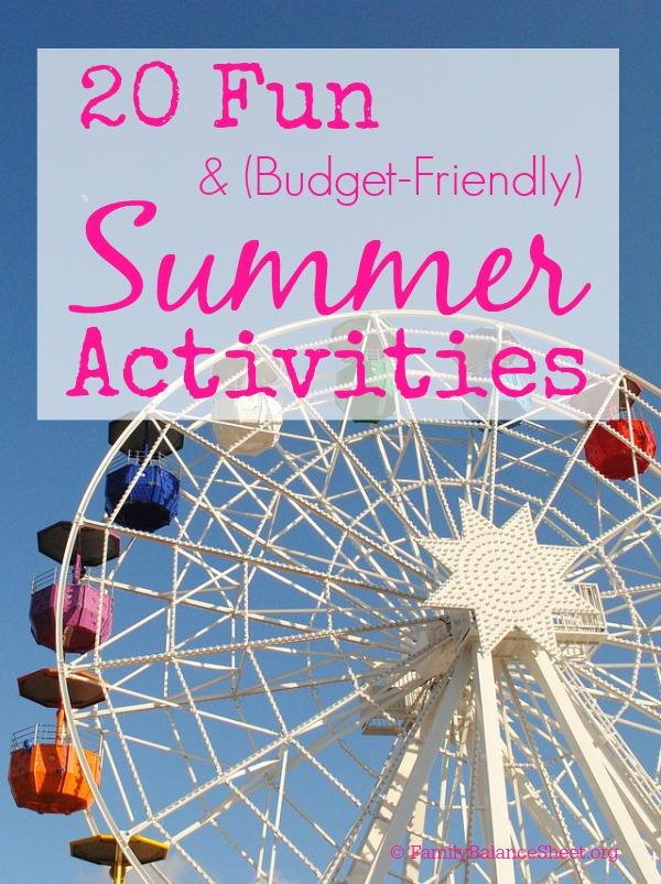 20 Fun & Budget-Friendly Summer Activities