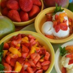 Strawberry Mango Dessert Topping