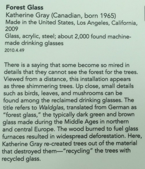 Forest Glass at Corning Museum of Glass