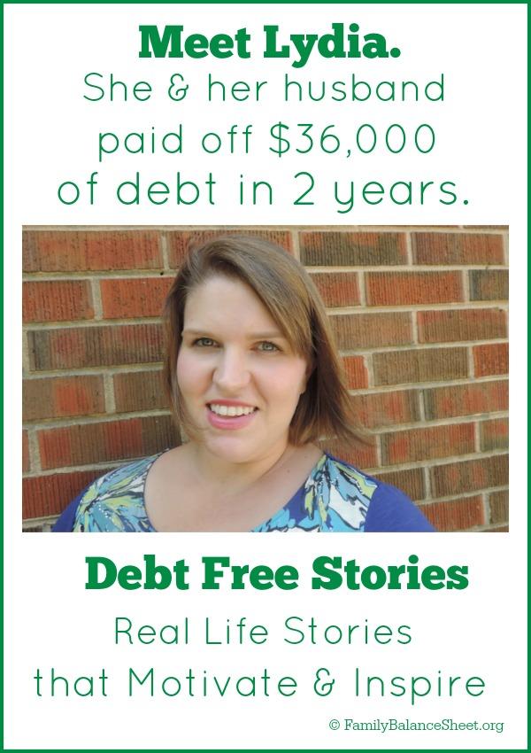 Lydia's Debt Free Story