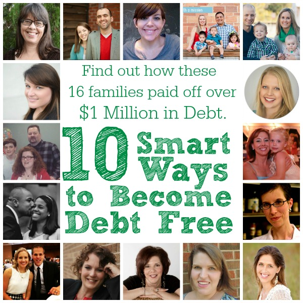 10 Smart Ways to Become Debt Free. Advice from those who've gotten there.
