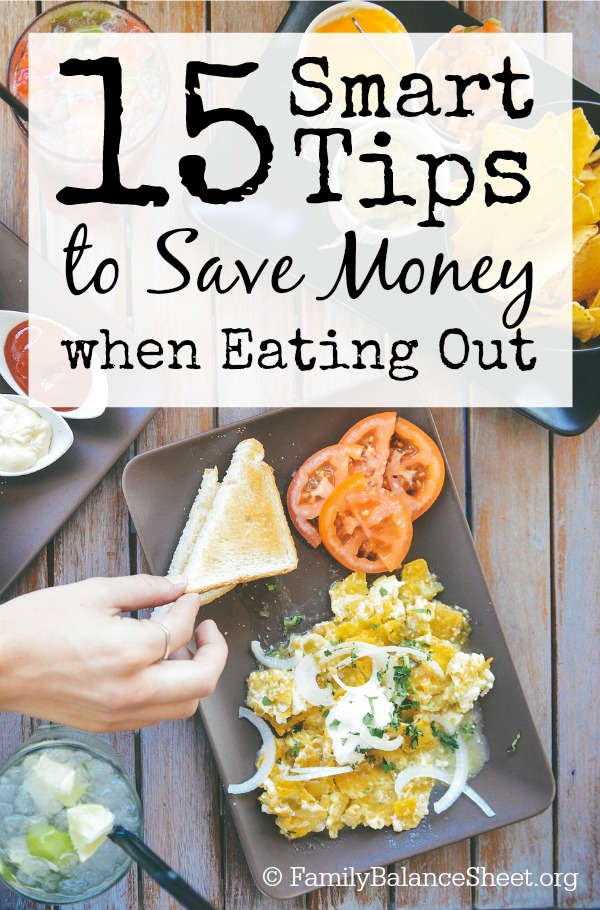 15 Smart Tips to Save Money when Eating Out