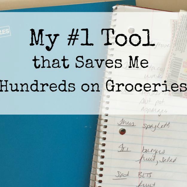 My #1 Tool that Saves me Hundreds on Groceries sq