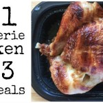 Turn 1 Rotisserie Chicken into 3 Easy Meals
